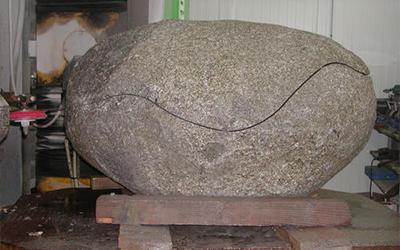 découpe massif granit