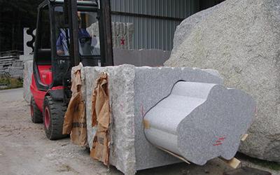 Fabrication spéciale en granit