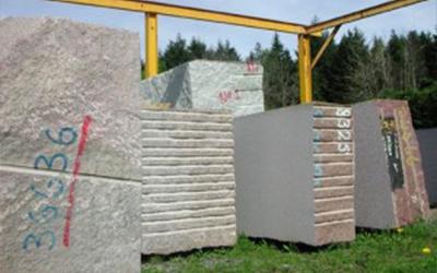 stock de granit